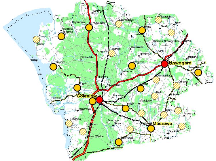 Mapka rejonu